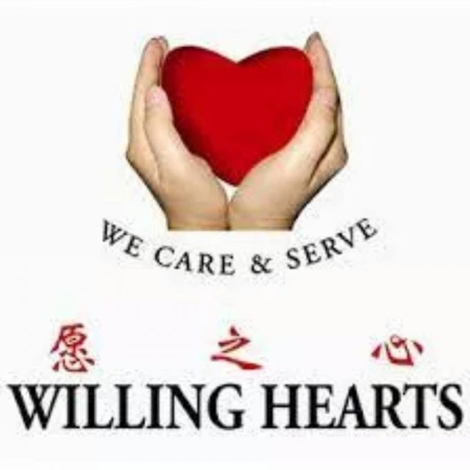 Food Donation Drive with Willing Hearts
