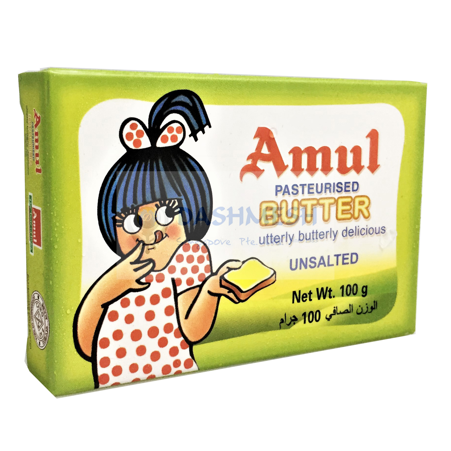 Amul Butter (Unsalted) 100g & 500g