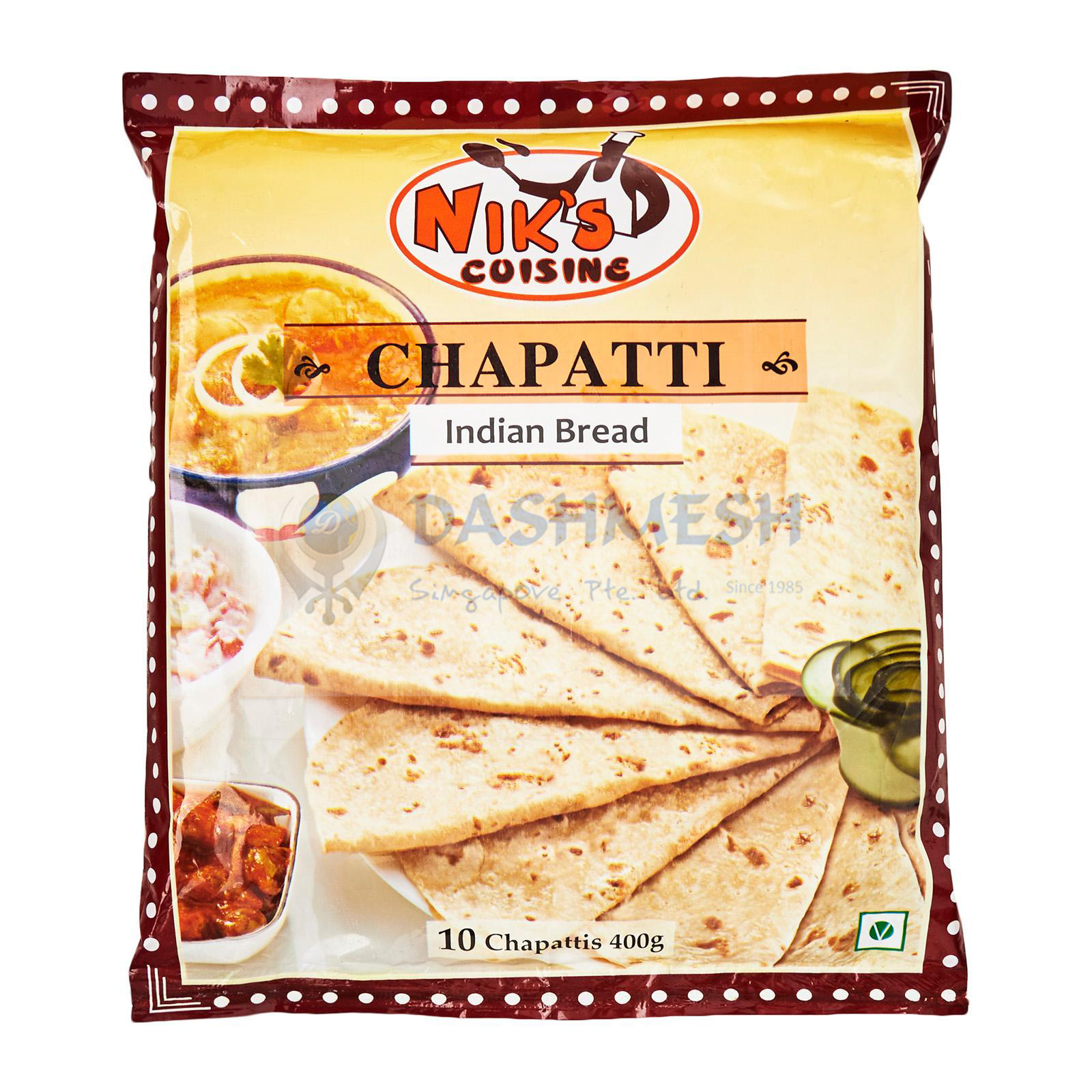 Niks Chapati – 10s