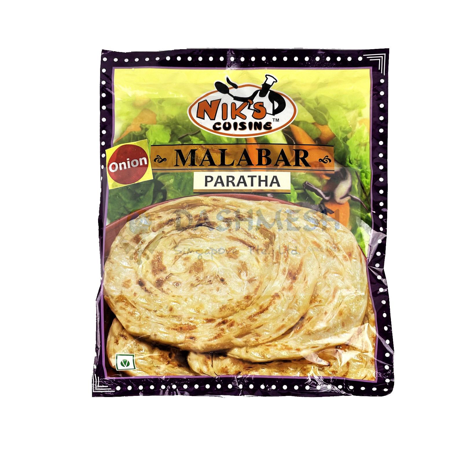 Niks Onion Malabar Paratha – 4s, 400g