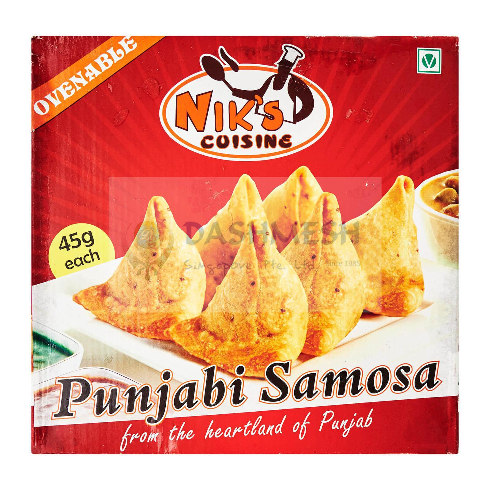 Niks Punjabi Samosa – 25s