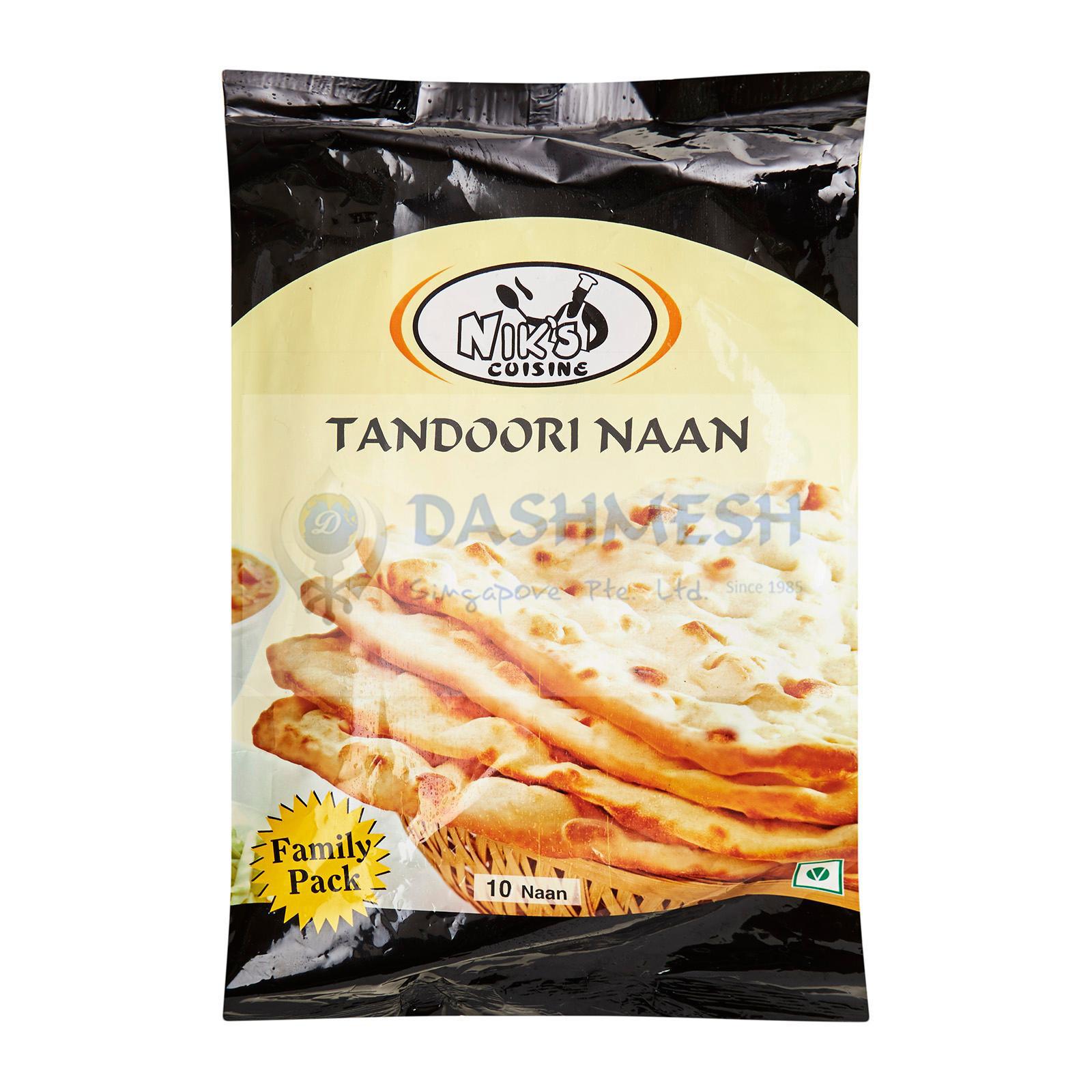 Niks Tandoori Naan – 10S