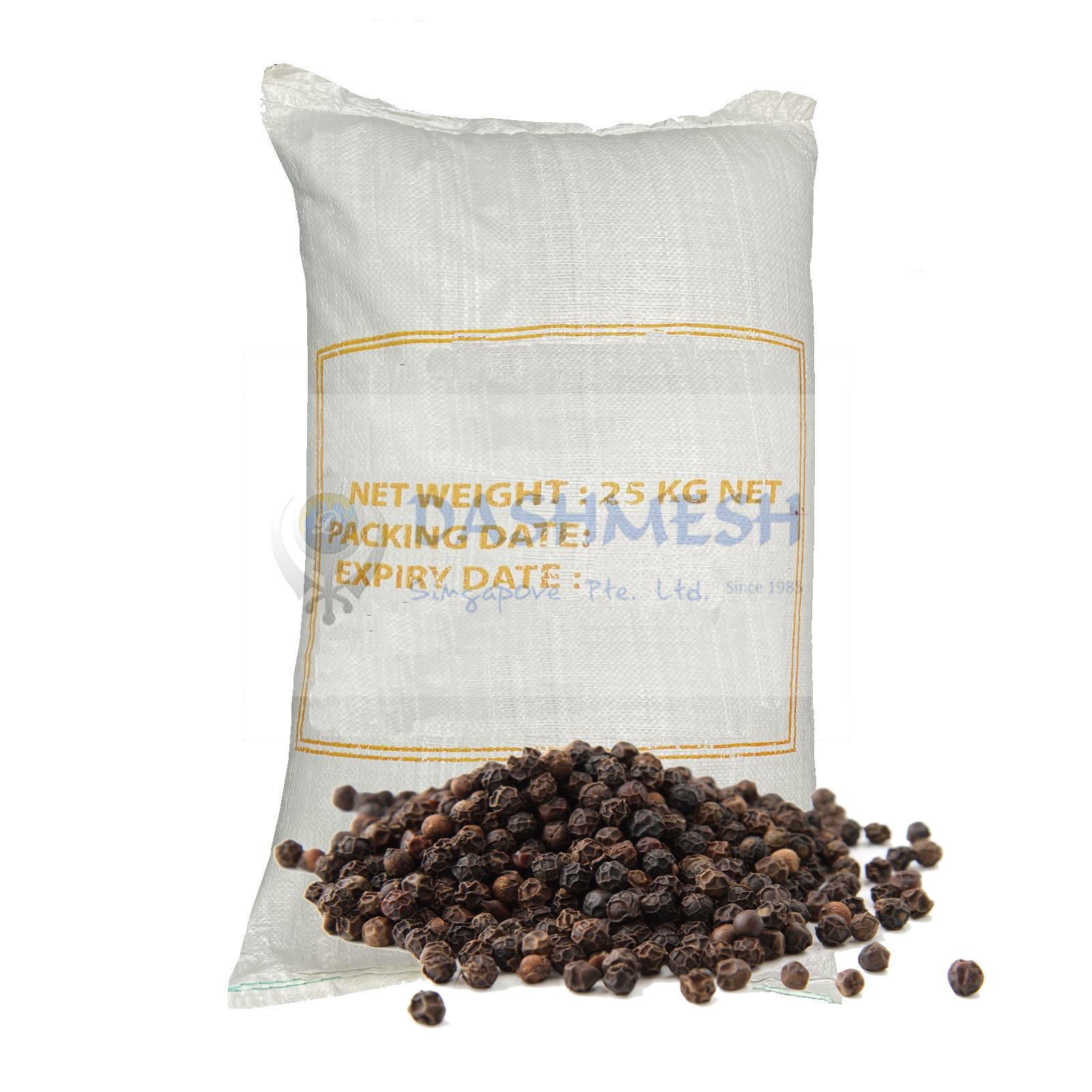 Black Pepper Whole 25Kg Bag