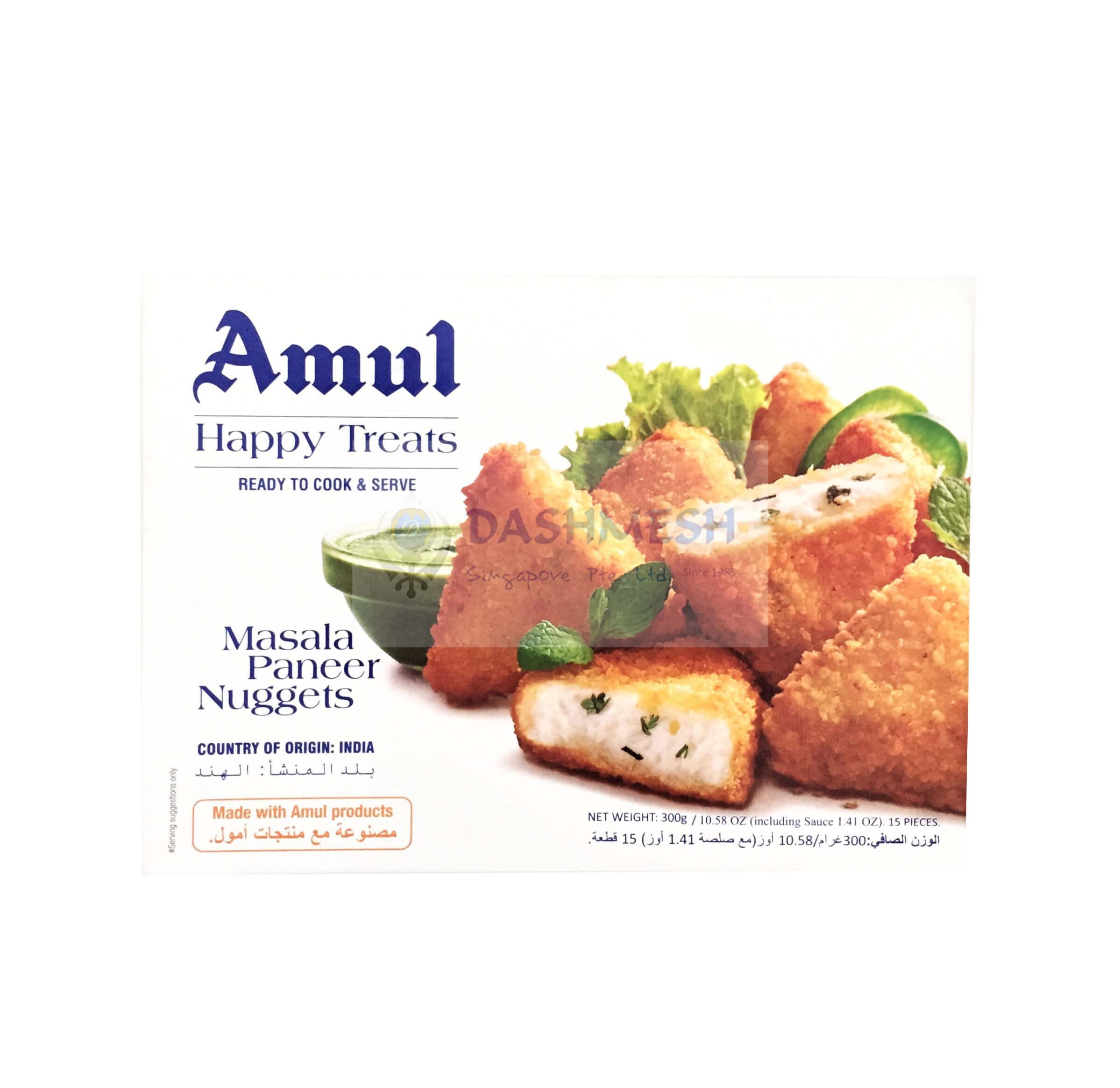 Amul Masala Paneer Nuggets 300g