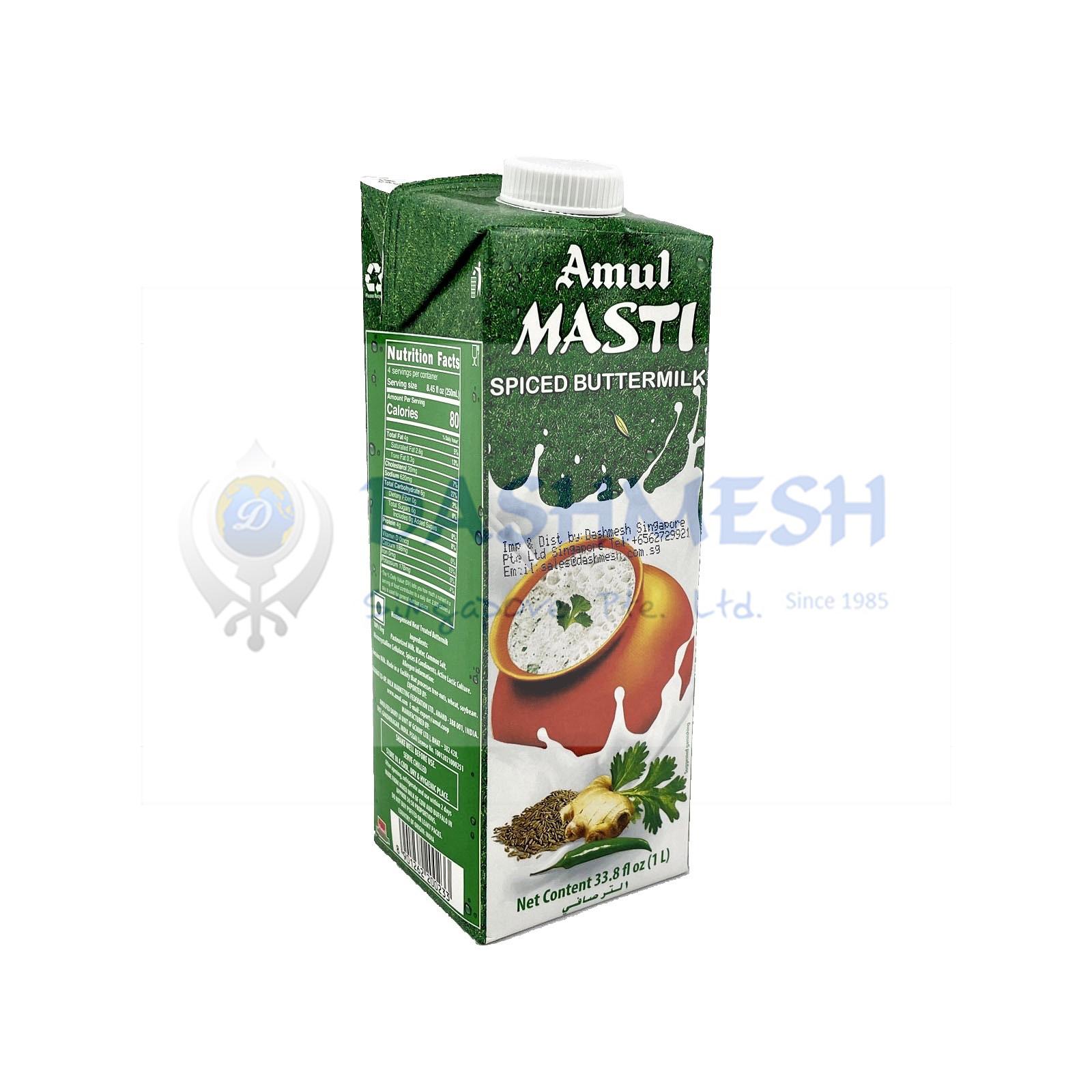 Amul Masti Spiced Buttermilk 200ml & 1 ltr