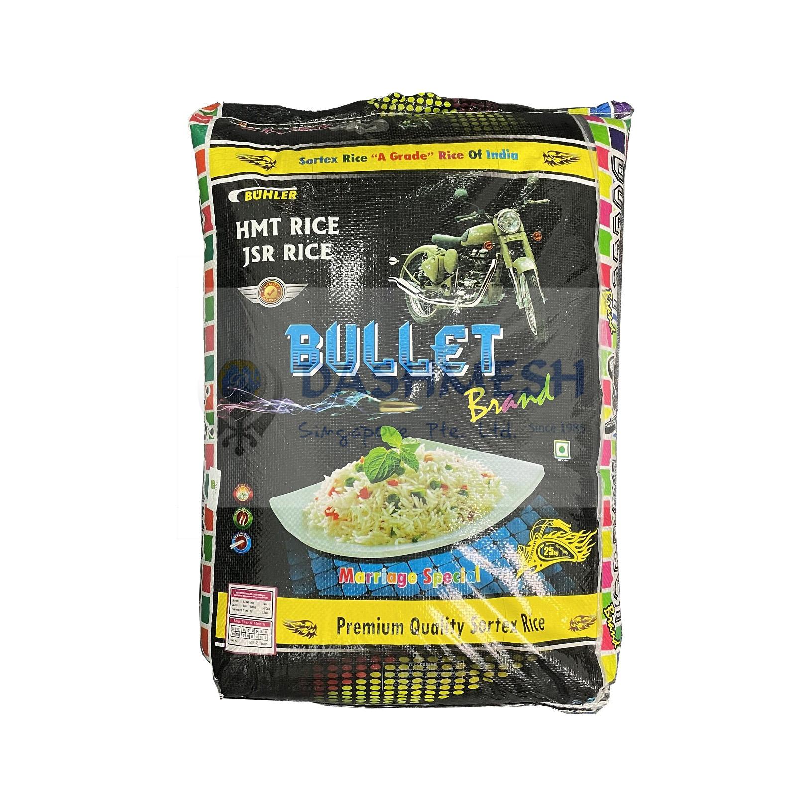 Bullet Brand Kolam Rice 25Kg Bag