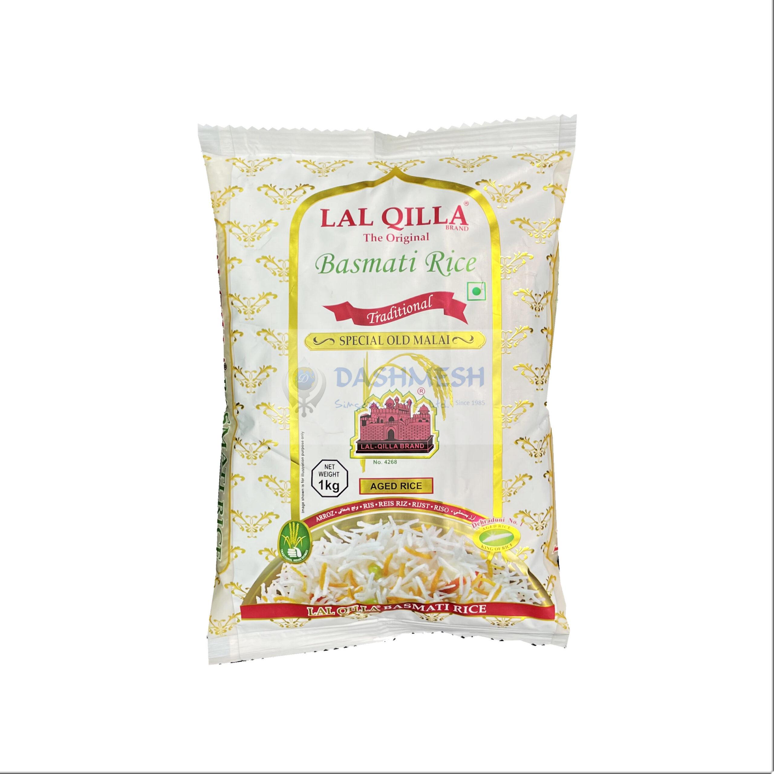 Lal Qilla Traditional Basmati Rice 1kg & 5kg