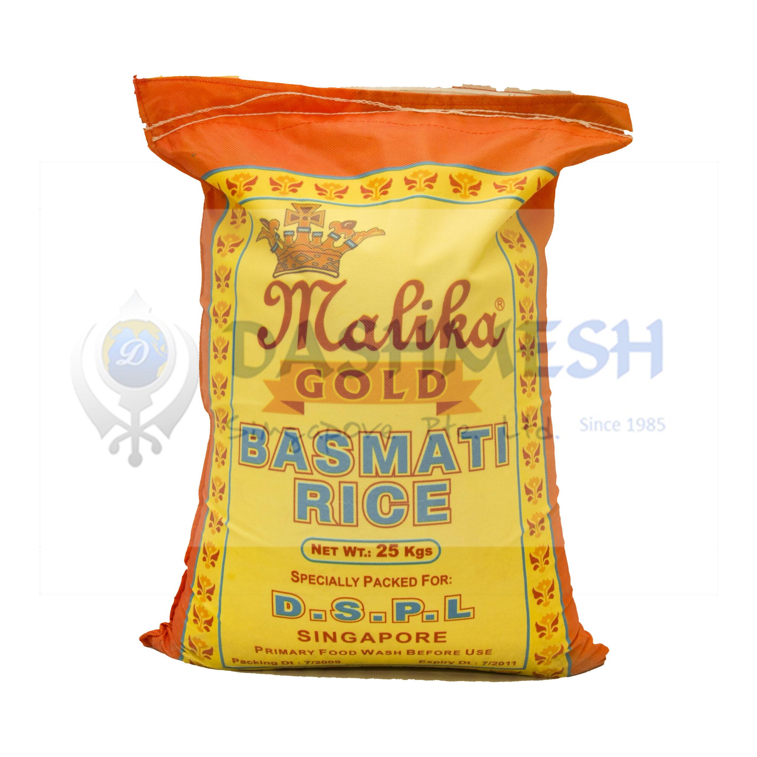 Malika Gold Basmati Rice 25Kg Bag
