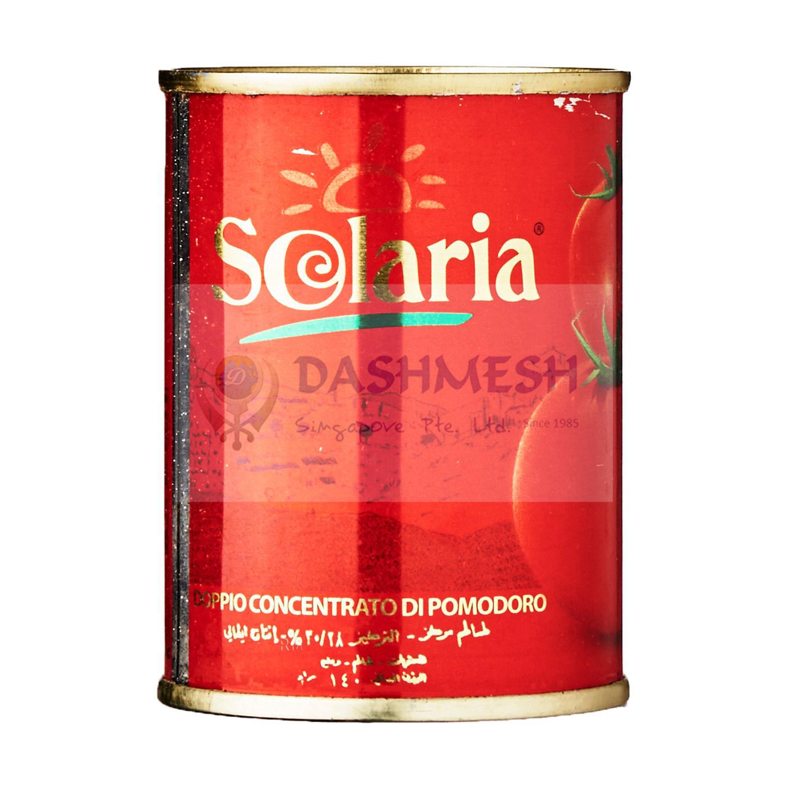 Solaria Tomato Paste 140g, 400g & 800g