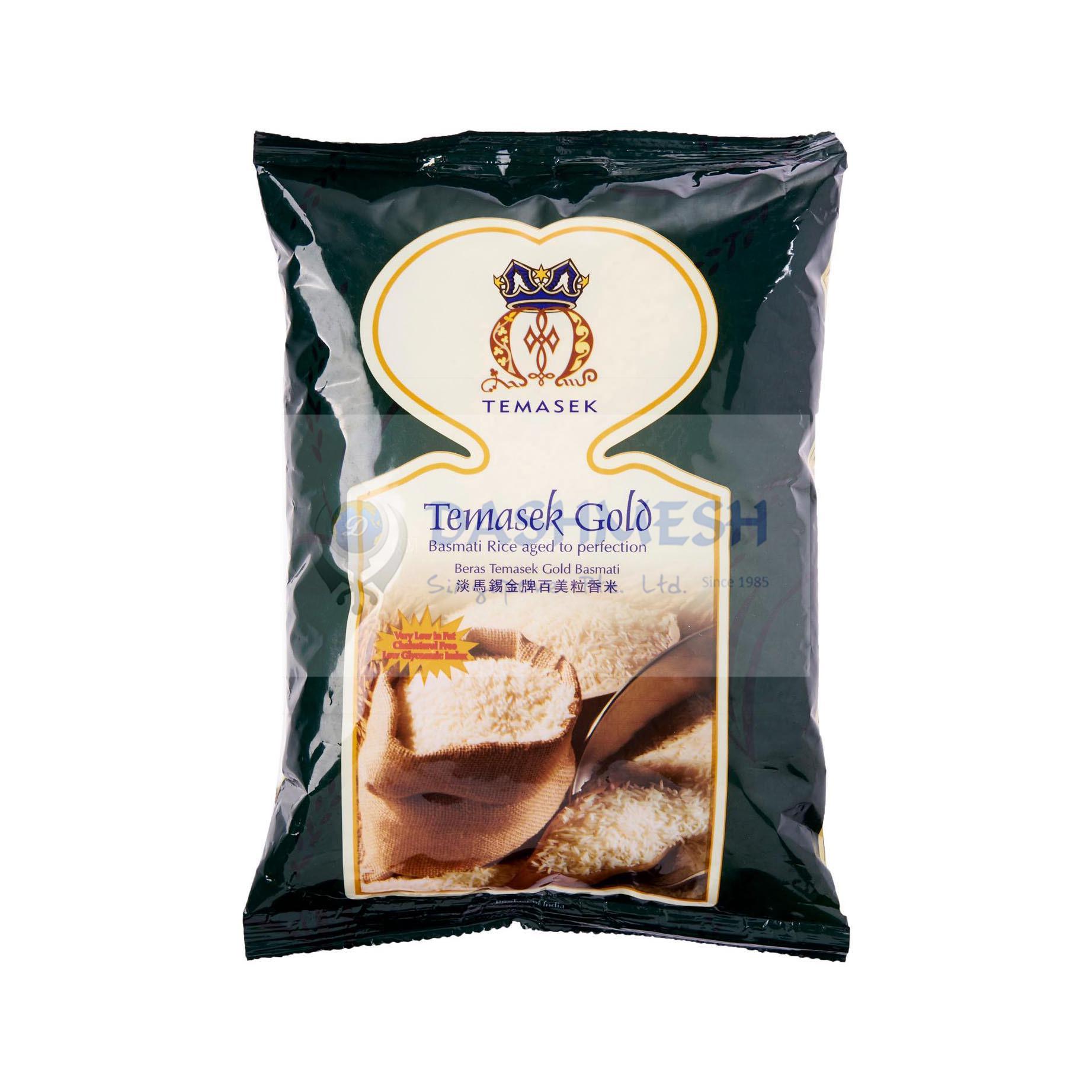 Temasek Gold Basmati Rice 1kg & 5Kg
