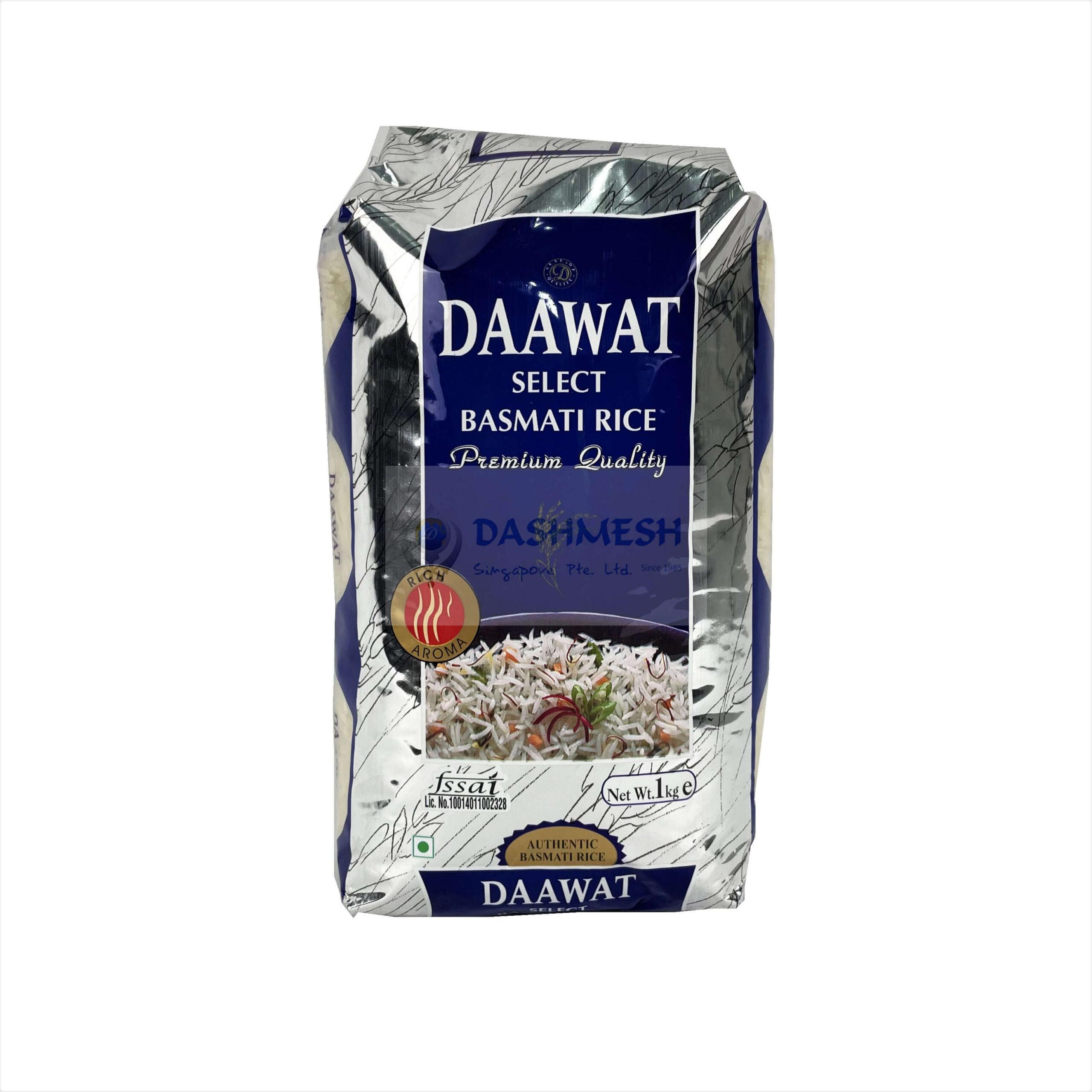 Daawat Select Basmati Rice 1kg & 5kg